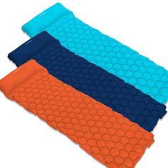 Ultralight Sleep Pad Pro - Ultralight Sleep Pad Pro™ 3 Pack / Blue,Aqua,Orange