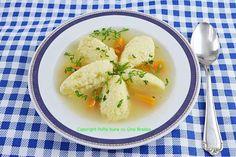 Supa de pui cu galuste pufoase din gris Health Diet, Cantaloupe, Potato Salad, Potatoes, Ethnic Recipes, Food, Soups, Potato, Essen