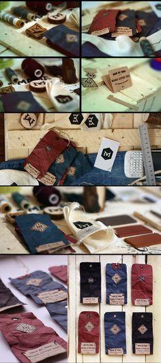 MAMA Clothing - Natural Handmade #identity #packaging PD