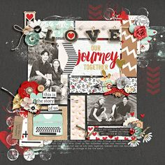 our journey together by jady day studio, shawna clingerman & studio basic template by swl