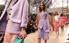 Pastel colors and trends for the Spring-Summer 2014 - The pastel colors of Burberry