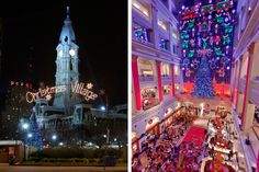 Roundup: Where to Spend Black Friday And Small Business Saturday In And Around Philadelphia (Photos from left by M. Fischetti, G. Widman, all for Visit Philadelphia)