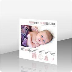 Takkekort baby - kortshop - produkter - Takkekort baby, 301996