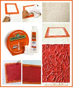 See for yourself how #Frogtape Textured Surfaces gives clean, crisp lines everytime! via @madamedeals