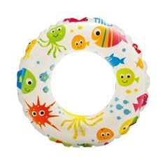 """Glossy Inflatable 20"""" Swim Ring 51cm - Recreational Lively Print for Sea / Swimming Pool / Summer Holiday Party Intex http://www.amazon.co.uk/dp/B00RGZPFLQ/ref=cm_sw_r_pi_dp_ll8lwb11CE3WB"""