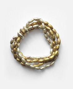 Tangled Beads Bracelet $40