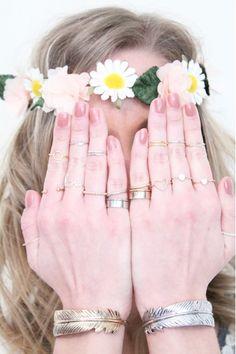 Inspiration bagues bracelets