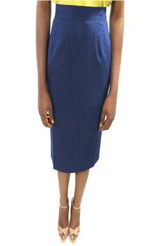 Kiki pencil skirt(2000-4)   #EVEANDTRIBE  #AfricanFashion #NigerianFashion #BuyNigerian   Available at http://lespacebylpm.com/