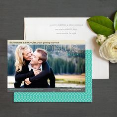 Joining Hearts Save The Date Photo Cards by Elli