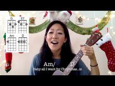 All I Want for Christmas is You // Ukulele Play-Along with Chords and Lyrics - YouTube