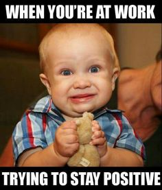 Haha so funny! I can be a real pill at work. I can be too serious, take my job too seriously. Sometimes I imagine it's hard on others. But, this is true! Lol