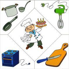 People occupations- a cook (printables! Preschool Jobs, Community Helpers Preschool, Preschool Education, Preschool Worksheets, Preschool Crafts, Activities For 2 Year Olds, Kids Learning Activities, Infant Activities, Teaching Kids