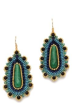 miguel ases jewelry | miguel ases jade drop earrings miguel ases from shopbop com sale price ...