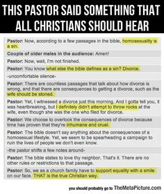 """""""Now Wait, I'm Not Finished"""" For everyone who needs a reminder about those Christian values they always preach."""