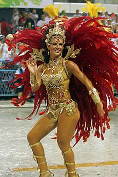 John Keats, Darwin and Vinicius de Moraes in the Brazilian Carnival