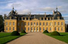Château Digoine ~ Burgundy ~ France ~ This chateau is situated in Burgundy a couple of hours south of Paris.  It was built in the late 18th century and has been lived in by the orginal owners ever since until recently when they chose to sell it.