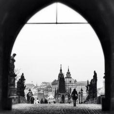 Charles Bridge, Prague, Czech Republic (April2013)
