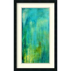Blue Mountain Rain I By Erin Ashley : 19 x 31-Inch