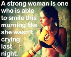 A Strong Woman One