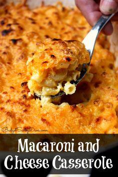 Macaroni and Cheese Casserole Recipe