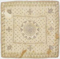 Ottoman embroidered panel | Harvard Art Museums