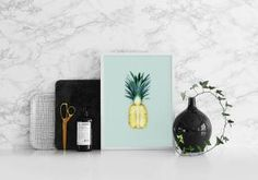 Pineapple, plakat