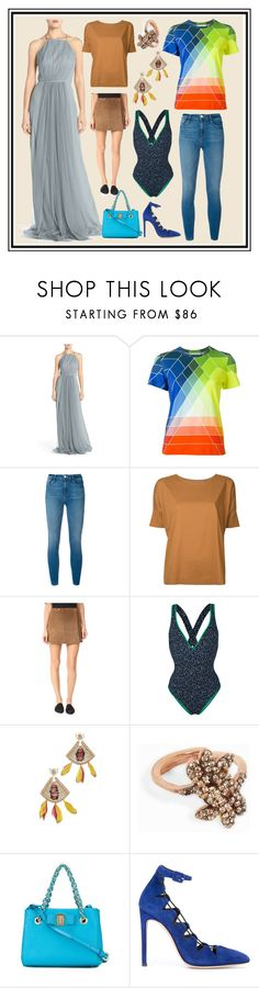 """""""Supprise Super Excited Styles"""" by cate-jennifer ❤ liked on Polyvore featuring Monique Lhuillier, Mary Katrantzou, Frame, Lemaire, Theory, Diane Von Furstenberg, Deepa Gurnani, MAHA LOZI, Salvatore Ferragamo and Giuseppe Zanotti"""