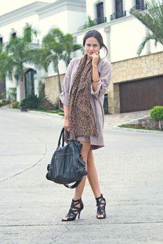 Tan-shirt-dress-pull-and-bear-dress-brown-leopard-oysho-scarf_400