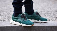 "Puma Trinomic Disc Blaze Basic Sport ""Posy Green"" at Afew"