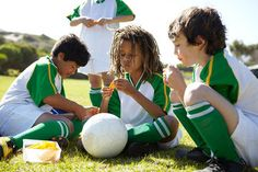 Ditch the chips and cookies and bring these healthier team snacks to your child's game instead.