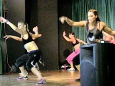 ▶ karyns zumba! move shake drop pitbull - YouTube