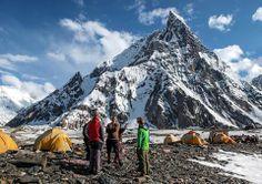Campo base del Concordia, Mitra Peak. Pakistan