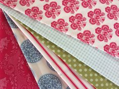 Tilda Fabric Bundle - 6 pieces of 43 cm x 27 cm ( 0,47 yard x 0,29 yard ) by FabriClutter on Etsy