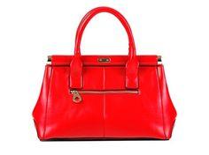 Weave style genuine cow Leather handbag