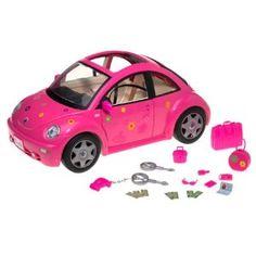 Barbie Volkswagen New Beetle PINK Mattel 55297