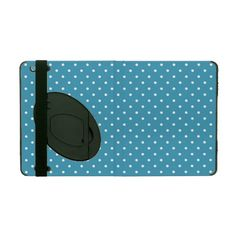 Aqua Polka iPad Covers