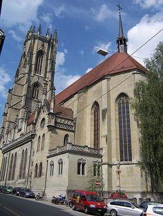 st.nicolas de fribourg Statues, La Passion Du Christ, Lugano, Sculpture, Gothic Art, Kirchen, Architecture, Notre Dame, Cathedral