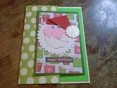Gins christmas card 428d