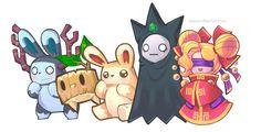 Brave Kingdom Monsters 1# By Lauren Fletcher Character Design I Digital Art I 2D I Video Game Assets I Graphics I Creature Design