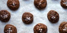 Salted Chocolate Rye Cookies