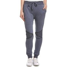 90 Degree By Reflex 90 Degree By Reflex French Terry Jogger Pant... (46 CAD) ❤ liked on Polyvore featuring pants, navy, french terry pants, navy trousers, print jogger pants, french terry jogger pants and stretch waist pants