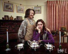 Eric Clapton & Rose Clapp '70.  Rose Clapp is Eric's grandmother, who raised him.