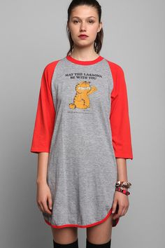 Vintage '70s Garfield Pajama Tee #urbanoutfitters