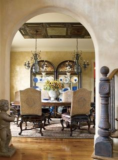 Dining Table Centerpieces Trestle Tables Kitchen Rooms Tuscan Style Ornament High Point Ceiling Sunflowers Floor Plans