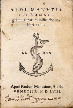 011► Aldus Pius Manutius o Aldo Manuzio (Bassiano, 1449 - Venecia, 6 de febrero de 1515), humanista e impresor italiano, fundador de la Imprenta Aldina. Su nombre en italiano era Teobaldo Mannucci, pero es más conocido por la forma latina de su nombre, Aldus Manutius, adaptada al español como «Aldo Manucio».
