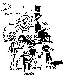 scrappy_levs_drtawing.gif (222×264) The Levellers, Cool Bands, Character, Image, Art, Art Background, Kunst, Art Education