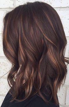 Gorgeous brunette color
