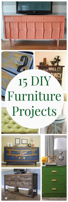 15 Furniture Projects