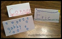 Name Place Cards