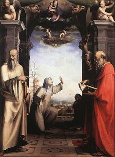 Trittico della Trinità (1513; Siena, Pinacoteca Nazionale)